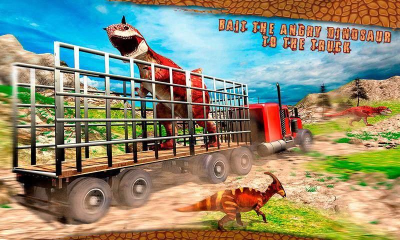 怪物恐龙越野运输卡车冒险截图7