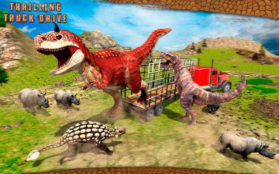 怪物恐龙越野运输卡车冒险截图8