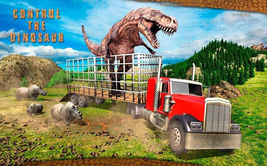 怪物恐龙越野运输卡车冒险截图9