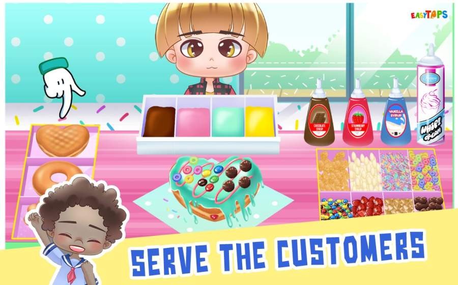 Cooking Shop - Donut, Ice Cream & Smoothies Fever截图3