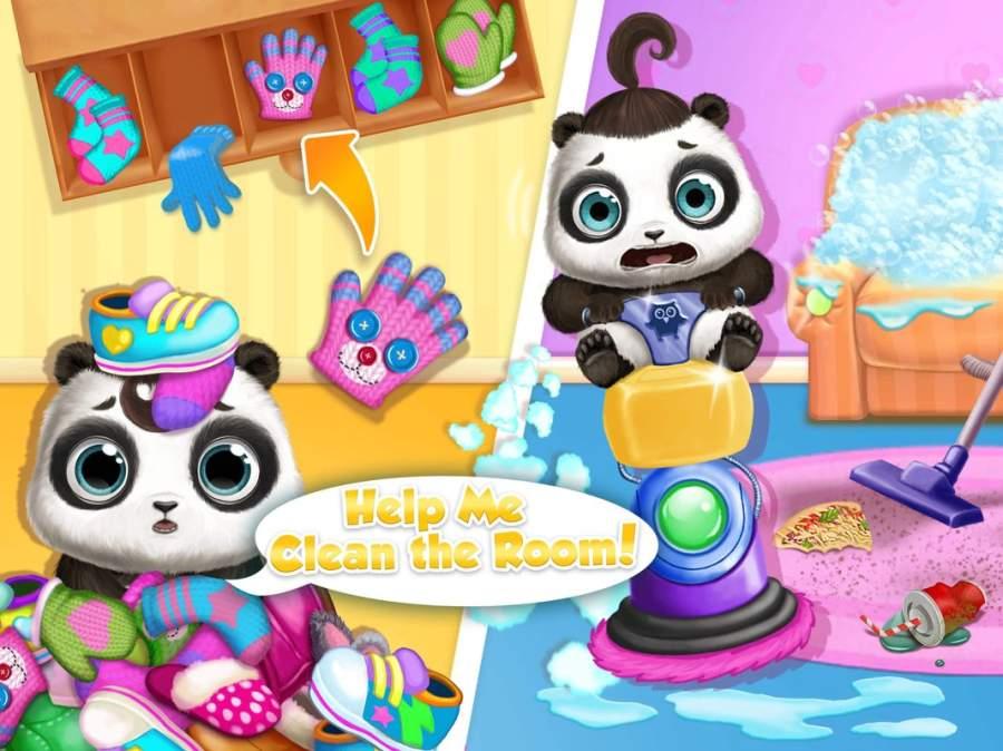 熊猫露露熊宝宝照顾2  - 临时保姆&托儿所截图4