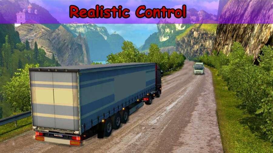 越野 运输 欧元 货物 卡车 驾驶 模拟器截图0