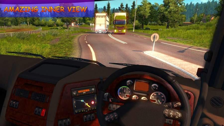 越野 运输 欧元 货物 卡车 驾驶 模拟器截图1