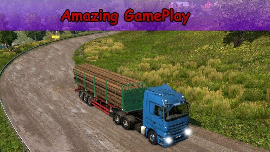 越野 运输 欧元 货物 卡车 驾驶 模拟器截图2