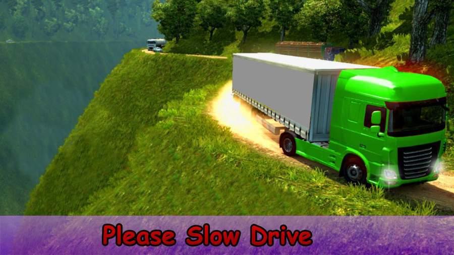 越野 运输 欧元 货物 卡车 驾驶 模拟器截图3