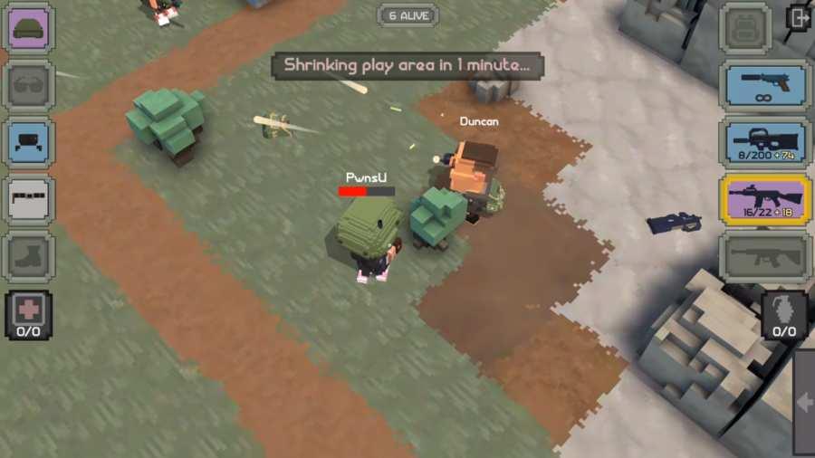 皇家枪战:方形战场截图1