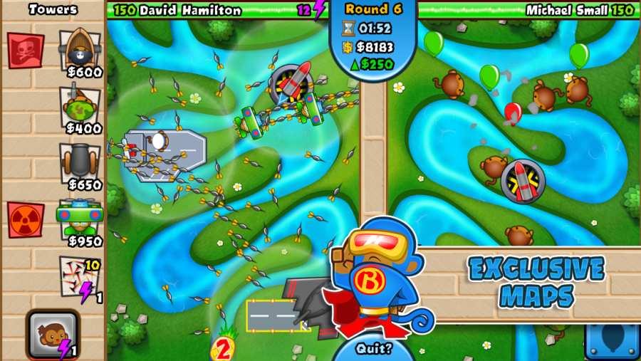 猴子塔防对战版截图2