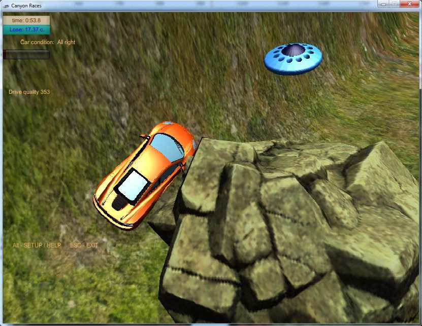 Cars vs UFO截图4