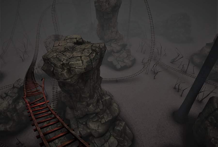 VR Bloody Roller Coaster X截图0