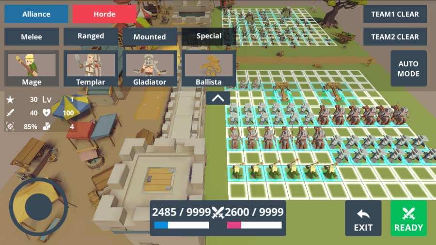 奇幻:终极对决模拟器截图1