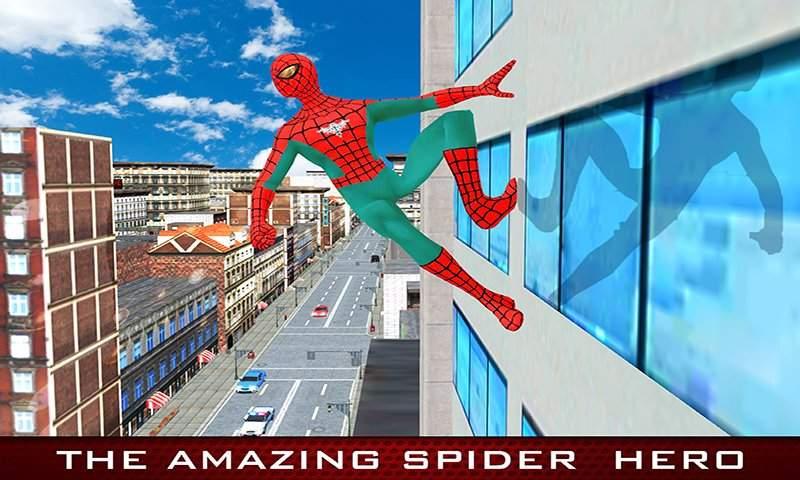 超级蜘蛛英雄城市战斗:奇怪的突变游戏