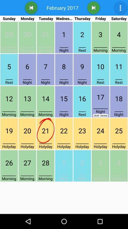 我的日程表截图3