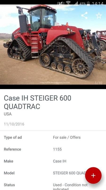 Agriaffaires 农业设备