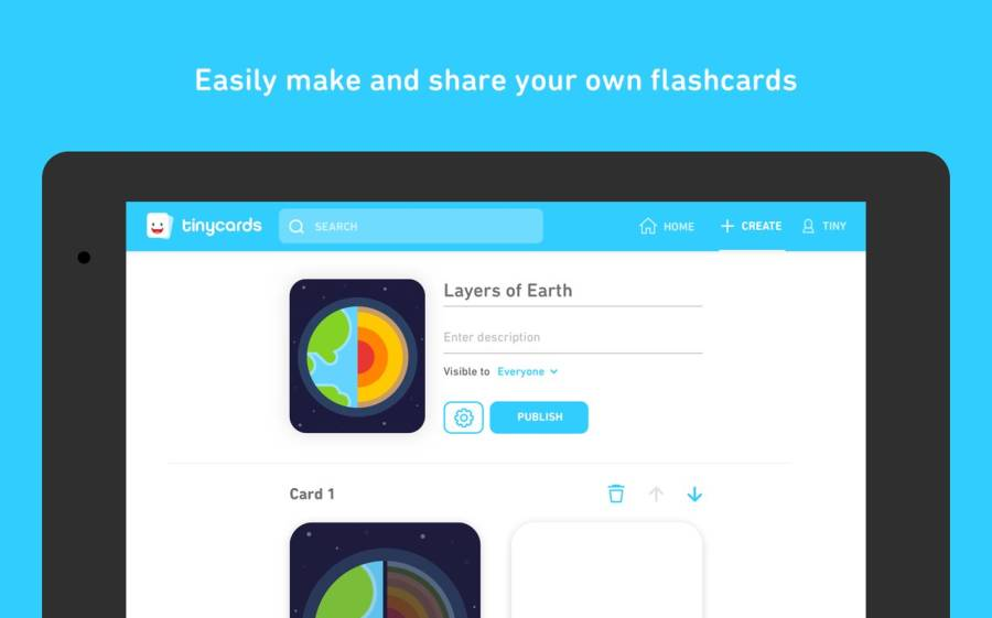 Tinycards by Duolingo: Fun & Free Flashcards截图4