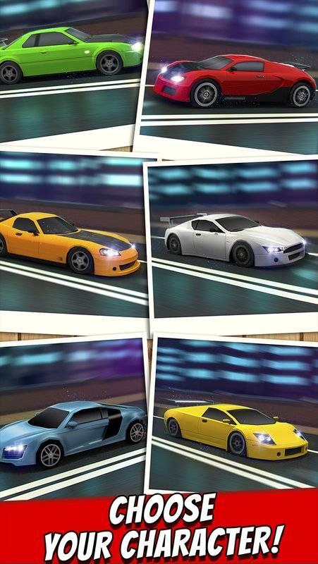 跑車 賽車 遊戲 狂野飆車 飛車 模擬 兒童 競賽截图3