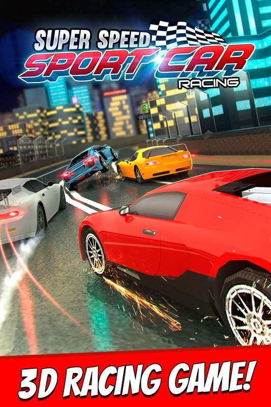 跑車 賽車 遊戲 狂野飆車 飛車 模擬 兒童 競賽截图6