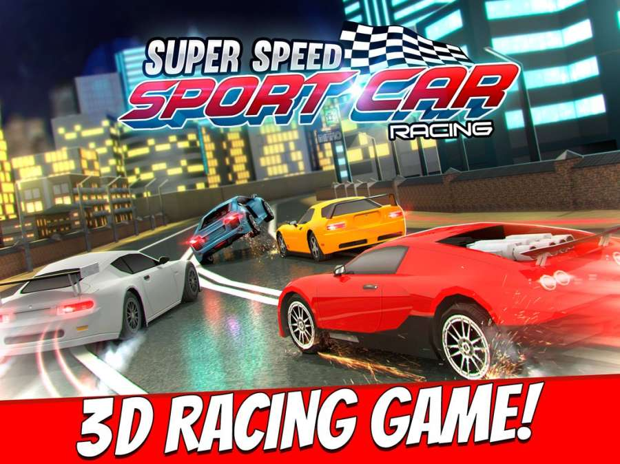 跑車 賽車 遊戲 狂野飆車 飛車 模擬 兒童 競賽截图7