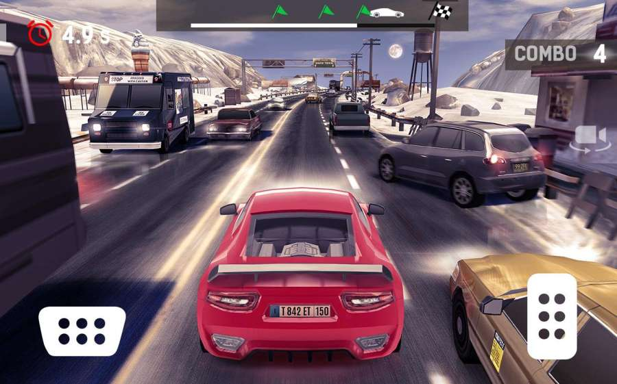 Traffic Xtreme 3D: Fast Car Racing & Highway Speed截图0