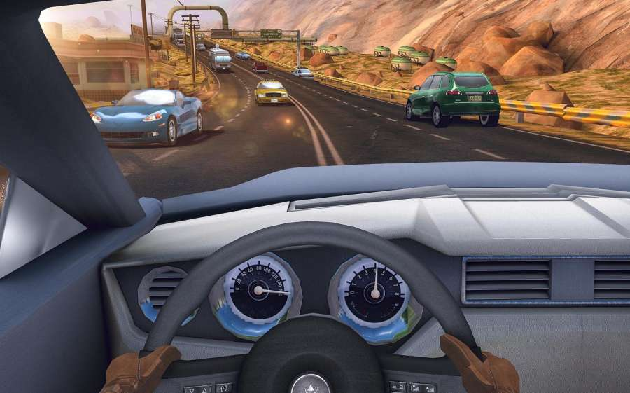 Traffic Xtreme 3D: Fast Car Racing & Highway Speed截图10