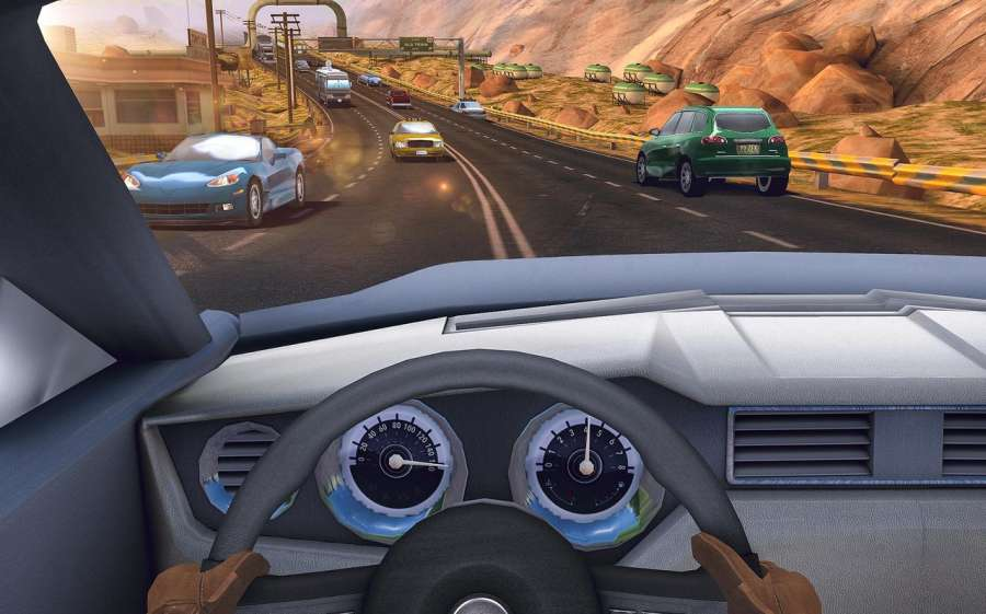 Traffic Xtreme 3D: Fast Car Racing & Highway Speed截图2