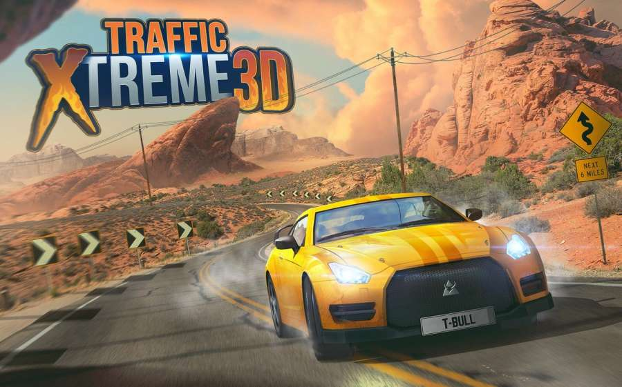 Traffic Xtreme 3D: Fast Car Racing & Highway Speed截图3