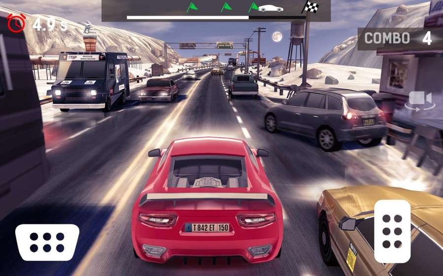 Traffic Xtreme 3D: Fast Car Racing & Highway Speed截图5
