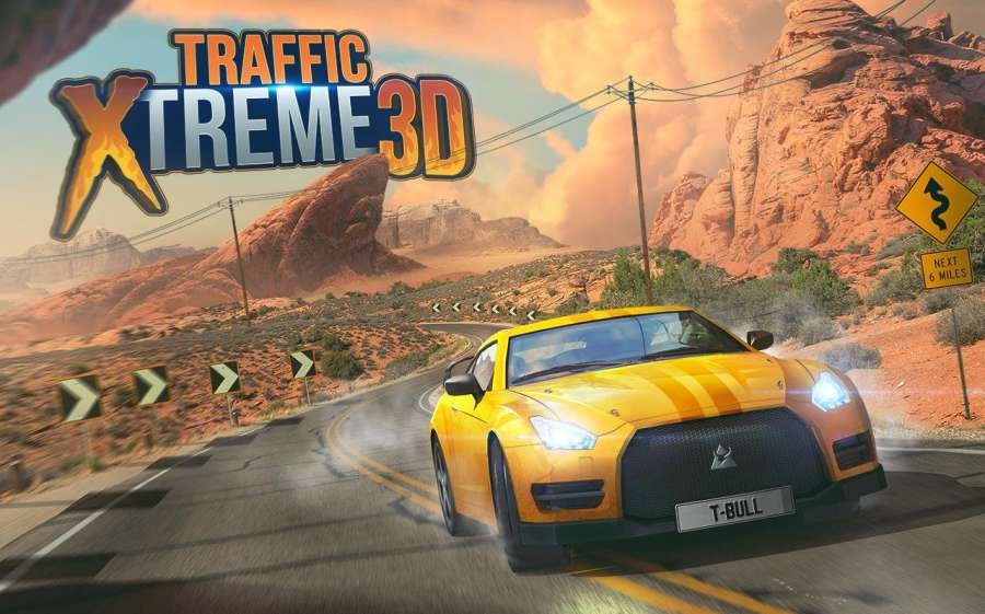 Traffic Xtreme 3D: Fast Car Racing & Highway Speed截图8