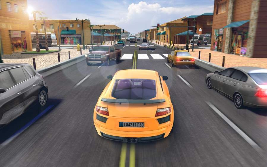 Traffic Xtreme 3D: Fast Car Racing & Highway Speed截图9