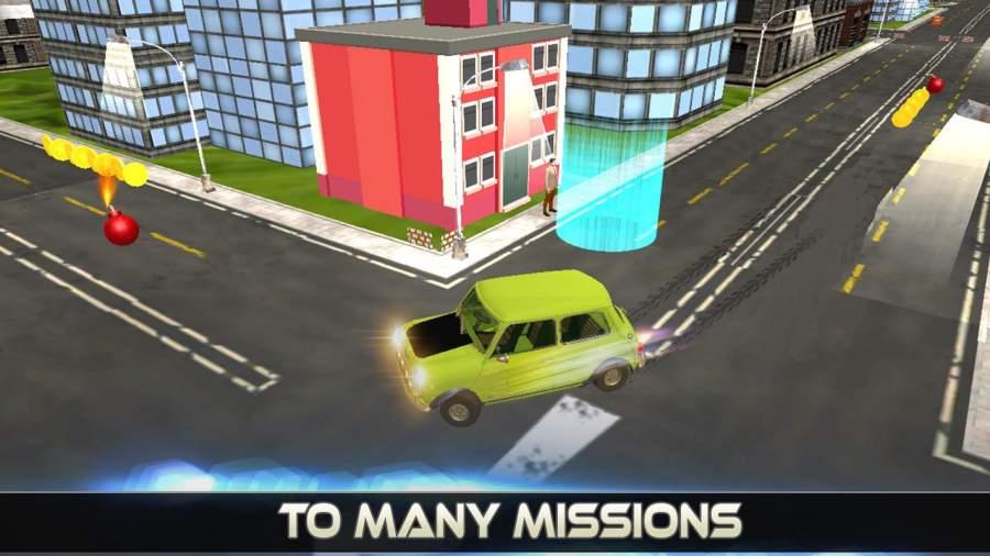 先生 波安 汽车 城市 冒险 -  游戏 为 开玩笑截图0
