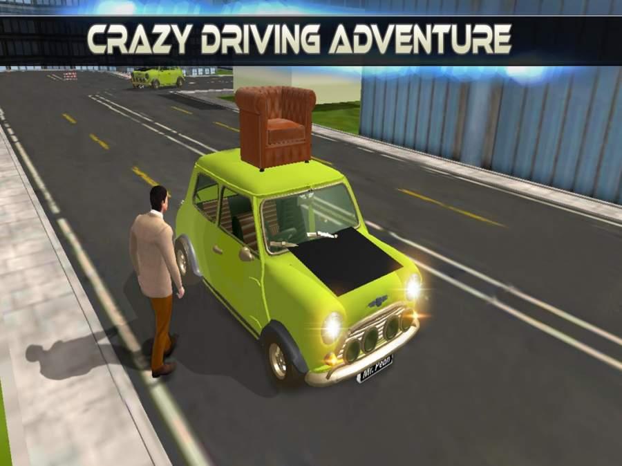 先生 波安 汽车 城市 冒险 -  游戏 为 开玩笑截图1