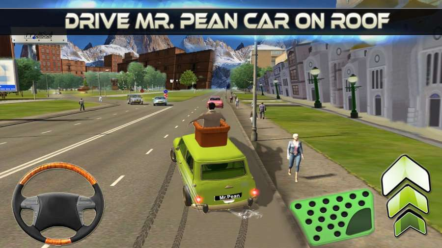 先生 波安 汽车 城市 冒险 -  游戏 为 开玩笑截图2