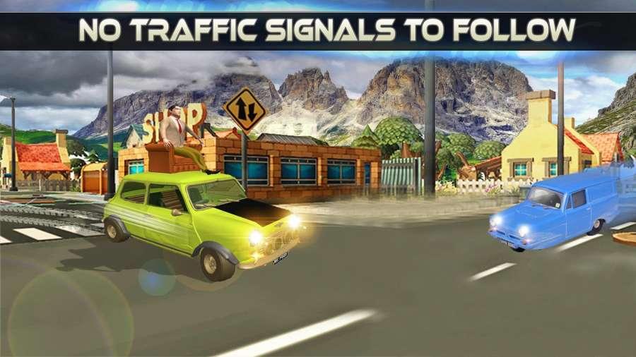 先生 波安 汽车 城市 冒险 -  游戏 为 开玩笑截图3