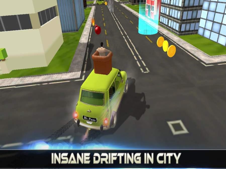 先生 波安 汽车 城市 冒险 -  游戏 为 开玩笑截图5