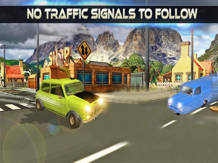 先生 波安 汽车 城市 冒险 -  游戏 为 开玩笑截图8