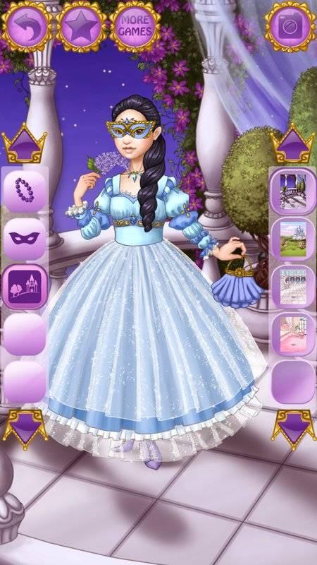 可爱公主着装