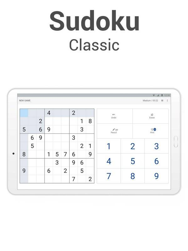 Sudoku - Classic Logic Puzzle Game截图3