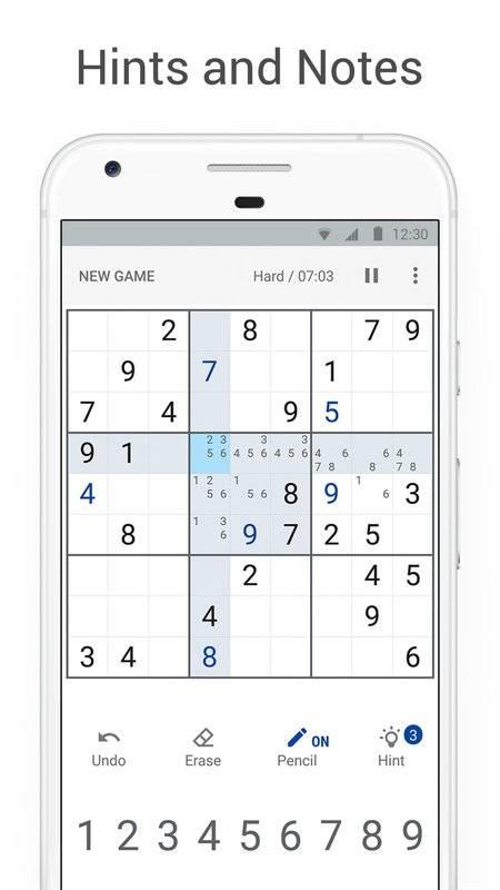 Sudoku - Classic Logic Puzzle Game截图4