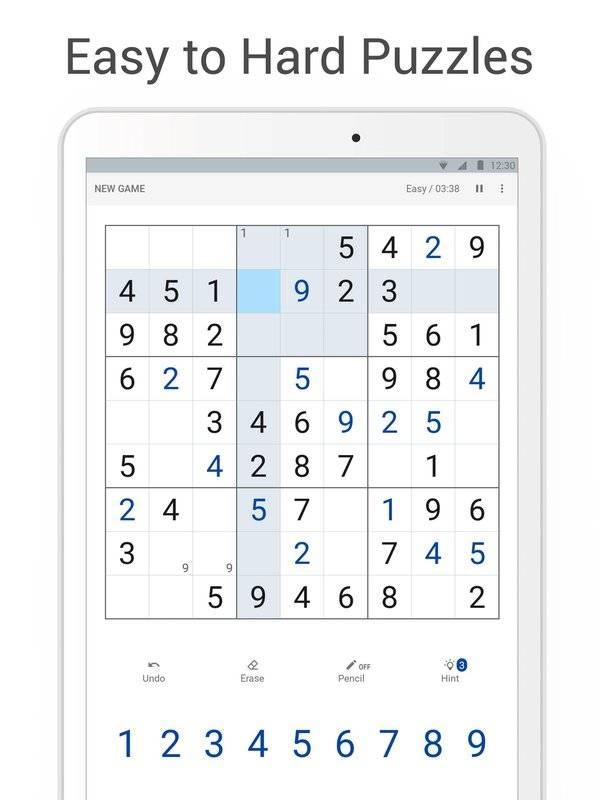 Sudoku - Classic Logic Puzzle Game截图5