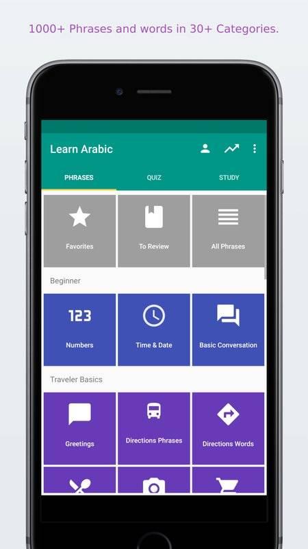 轻松学阿拉伯语截图5