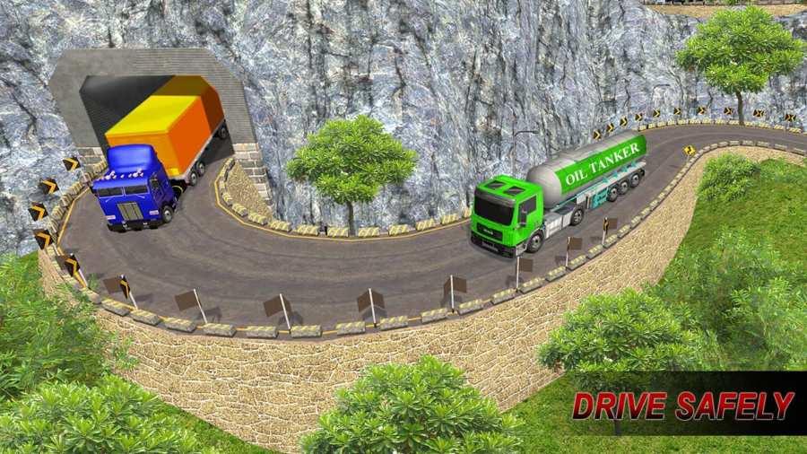 越野油罐车运输卡车司机Sim 2017截图1