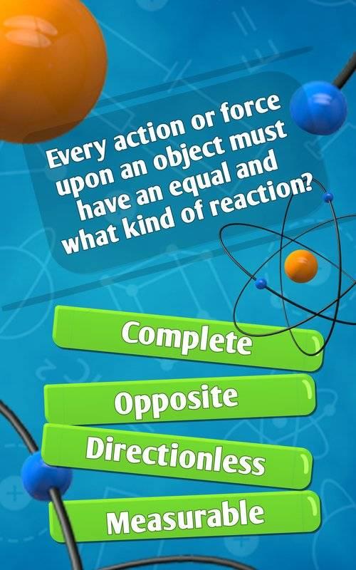物理測驗科学测验游戏
