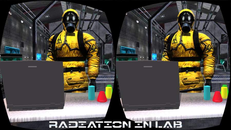 科幻 VR 秘密 代理人 实验室 游览 未来派