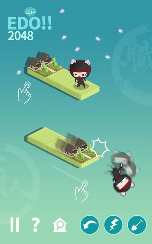 江户时代城市建设:忍者猫之王截图2
