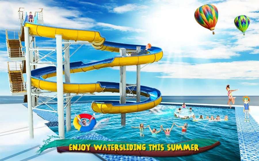 水 游戏 滑动 冒险