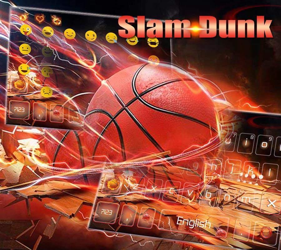 疯狂篮球扣篮键盘主题