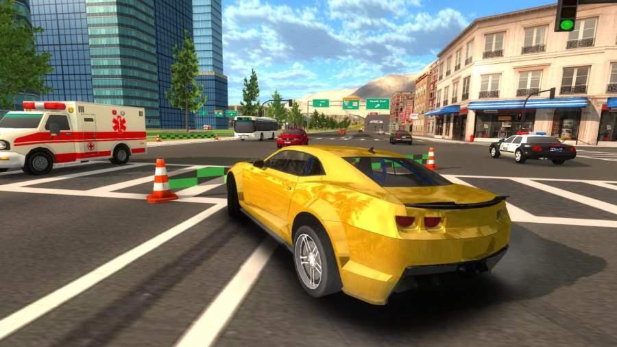 Crime Car Driving Simulator截图1