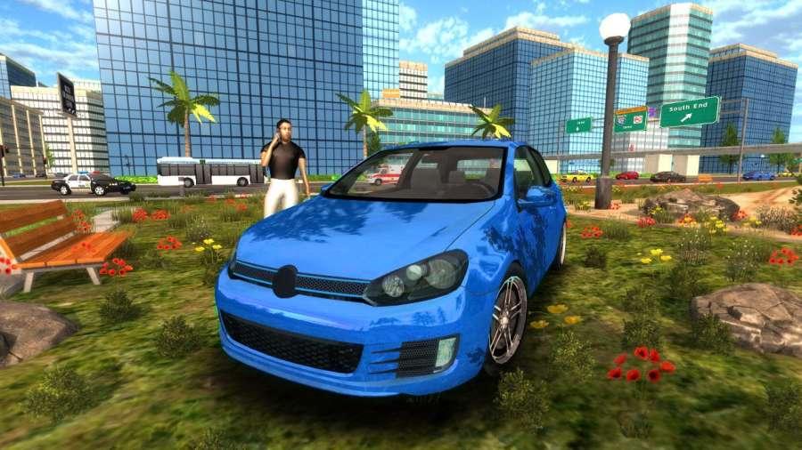 Crime Car Driving Simulator截图2