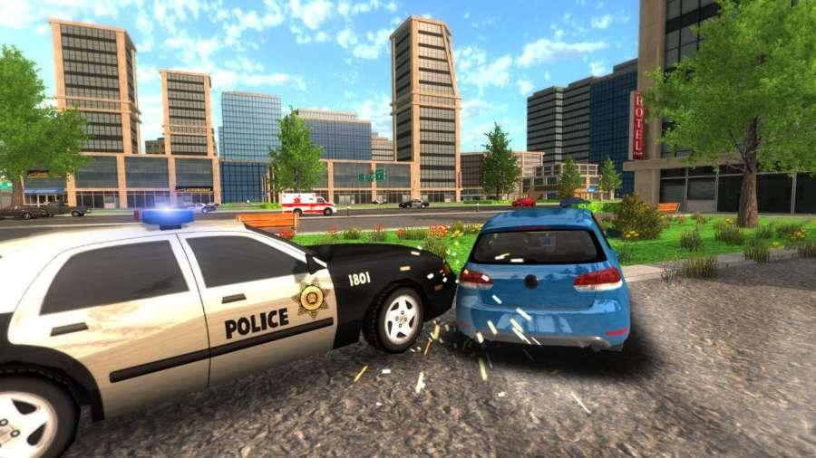 Crime Car Driving Simulator截图3
