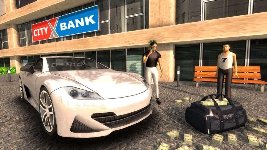 Crime Car Driving Simulator截图4