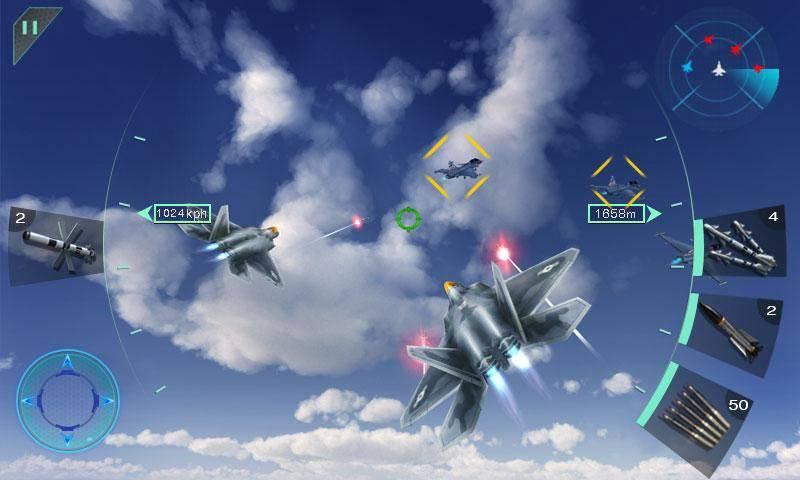 Sky Fighters 3D截图1